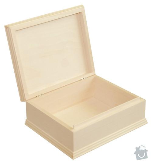 Dřevěné krabice/bedýnky z masivu: 22x17_5x8_3