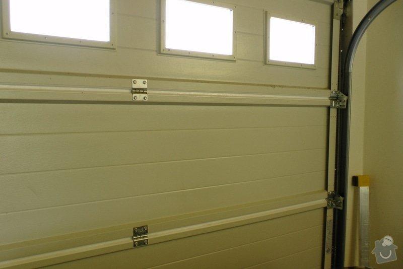 Zateplení garážových vrat: S1240020
