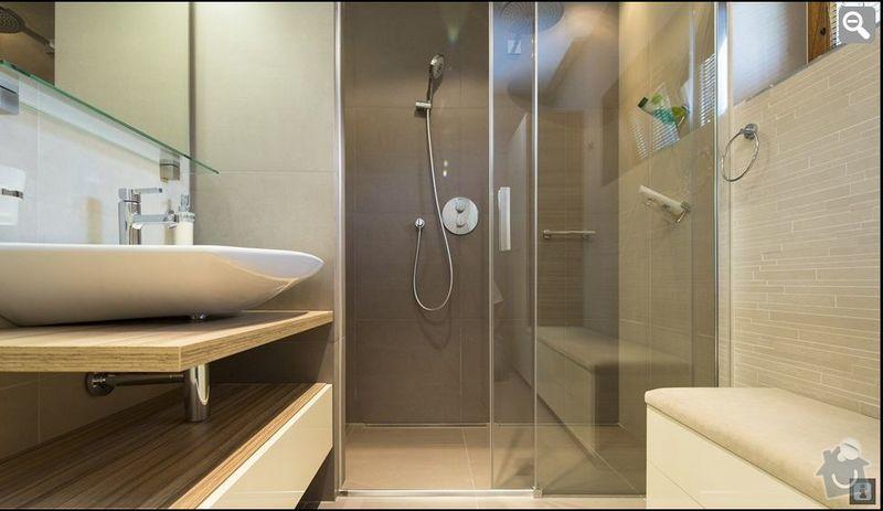 Rekonstrukce koupelny a WC: koupelna1