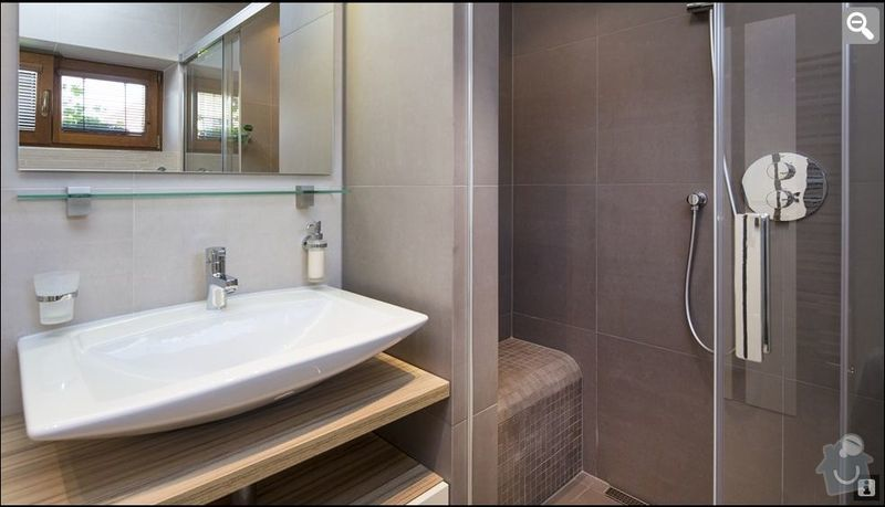 Rekonstrukce koupelny a WC: Koupelna3