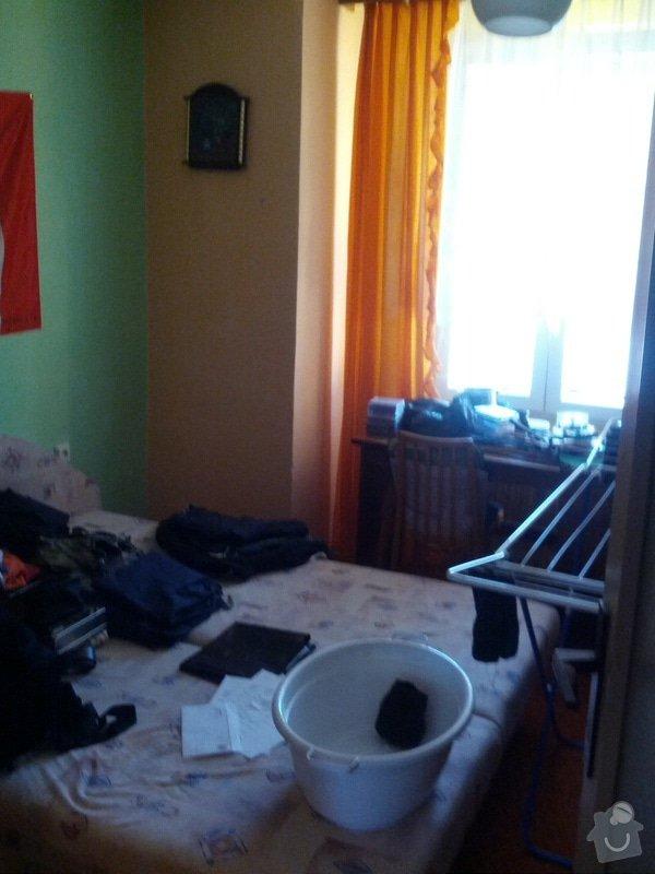 Omítky ve dvou pokojích: pokoj1_1