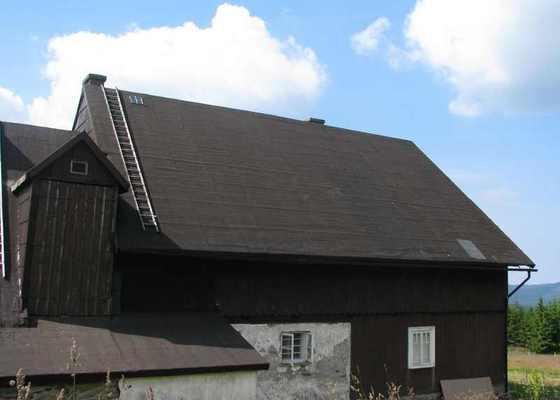 Oprava střechy na horské chalupě 120 m2