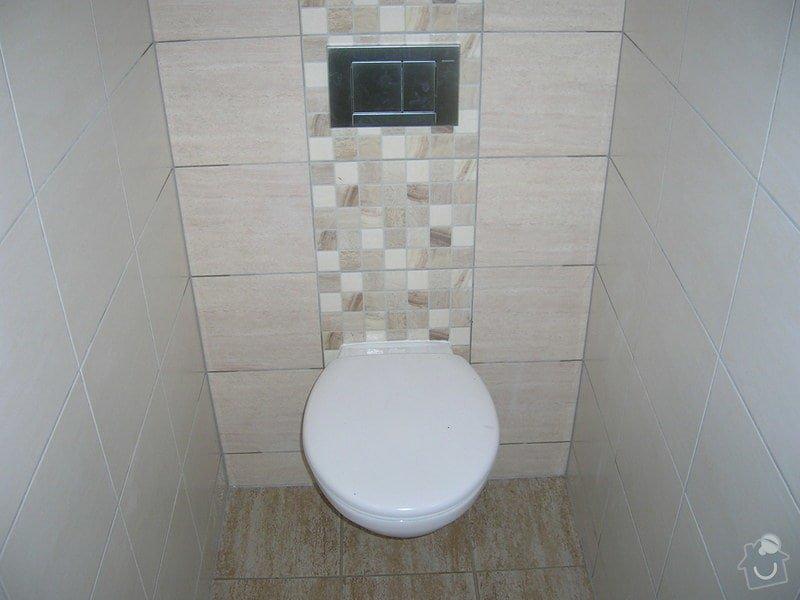 Rekonstrukce koupelny a WC: DSCN5192