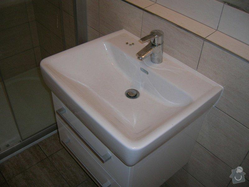 Rekonstrukce koupelny a WC: DSCN5195