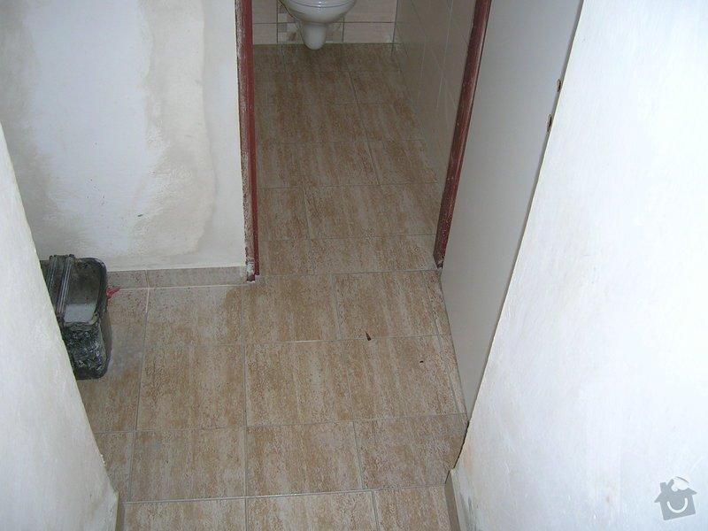 Rekonstrukce koupelny a WC: DSCN5197
