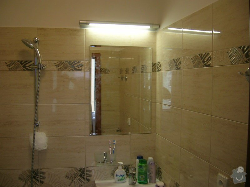 Rekonstrukce koupelny,WC a kuchyně : DSCN5210