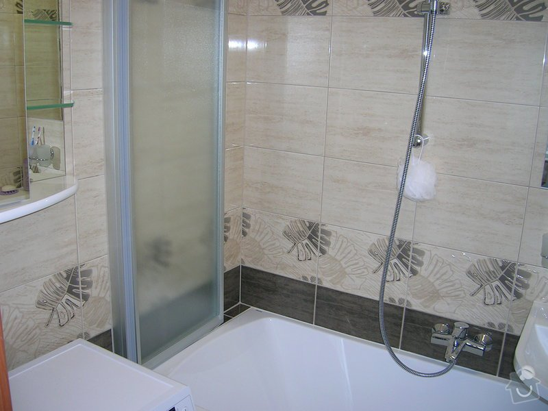 Rekonstrukce koupelny,WC a kuchyně : DSCN5209