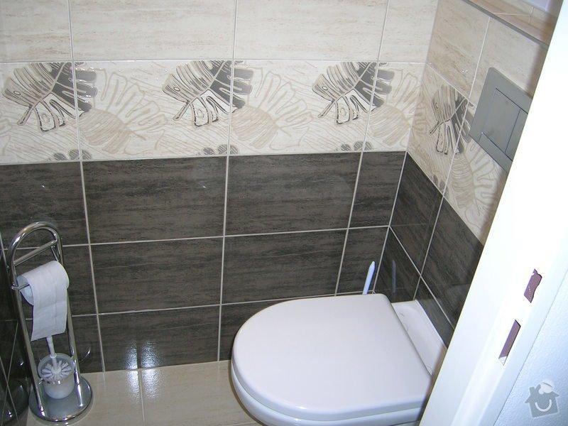 Rekonstrukce koupelny,WC a kuchyně : DSCN5217
