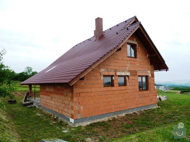 Stavba před dokončení. : 2