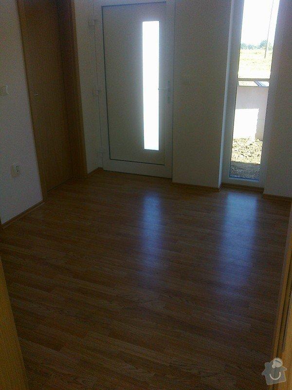 Dodávka a montáž interierových dveří Gerbrich a plovoucích podlah Kronofix dub parketa: Fotografie0242