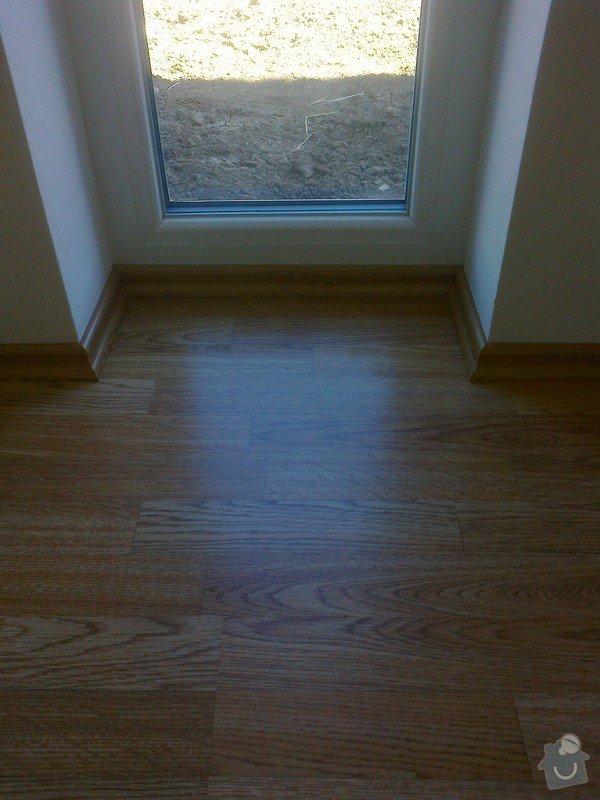 Dodávka a montáž interierových dveří Gerbrich a plovoucích podlah Kronofix dub parketa: Fotografie0241