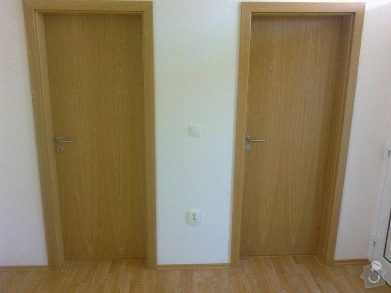 Dodávka a montáž interierových dveří Gerbrich a plovoucích podlah Kronofix dub parketa: Fotografie0246