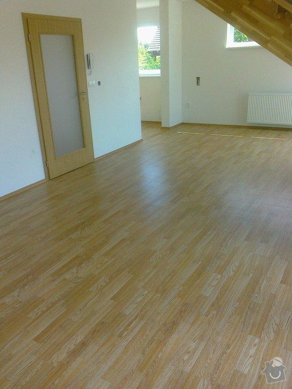 Dodávka a montáž interierových dveří Gerbrich a plovoucích podlah Kronofix dub parketa: Fotografie0249