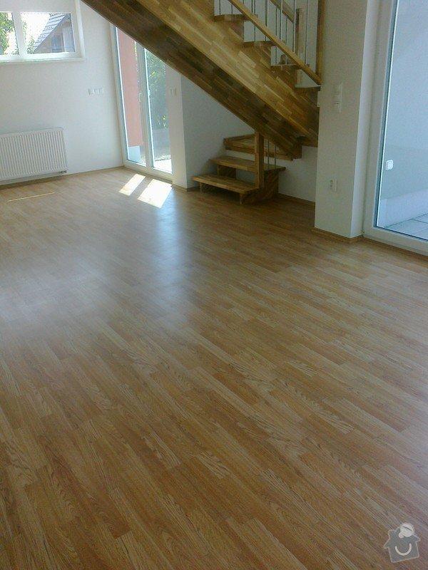 Dodávka a montáž interierových dveří Gerbrich a plovoucích podlah Kronofix dub parketa: Fotografie0250