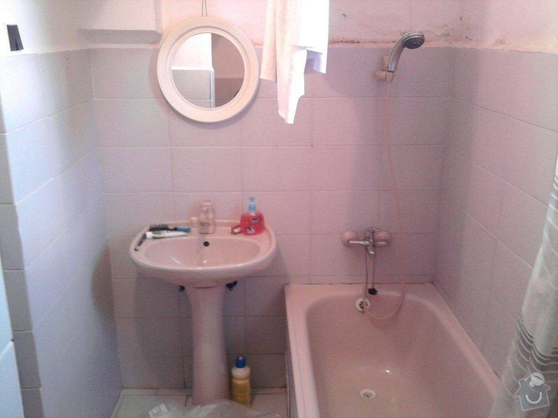 Rekonstrukce koupelny : Fotografie0530