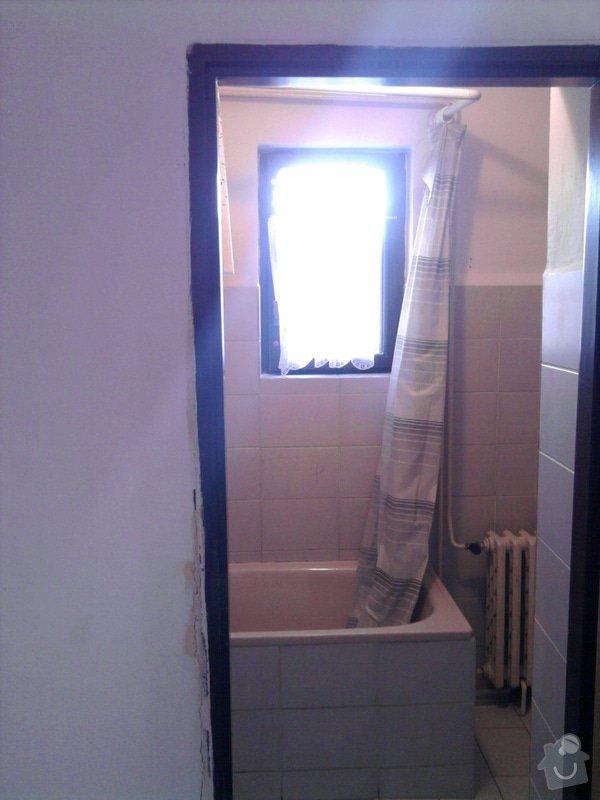 Rekonstrukce koupelny : Fotografie0532