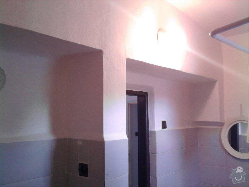 Rekonstrukce koupelny : Fotografie0533