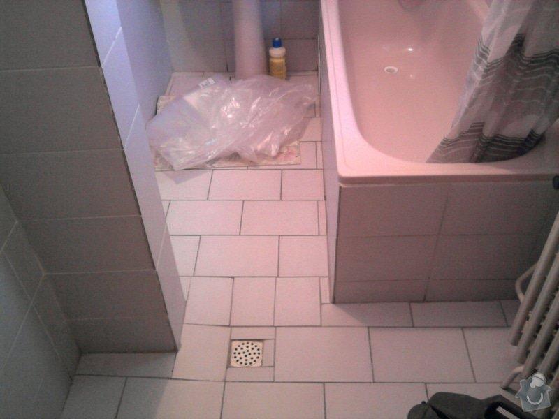 Rekonstrukce koupelny : Fotografie0534