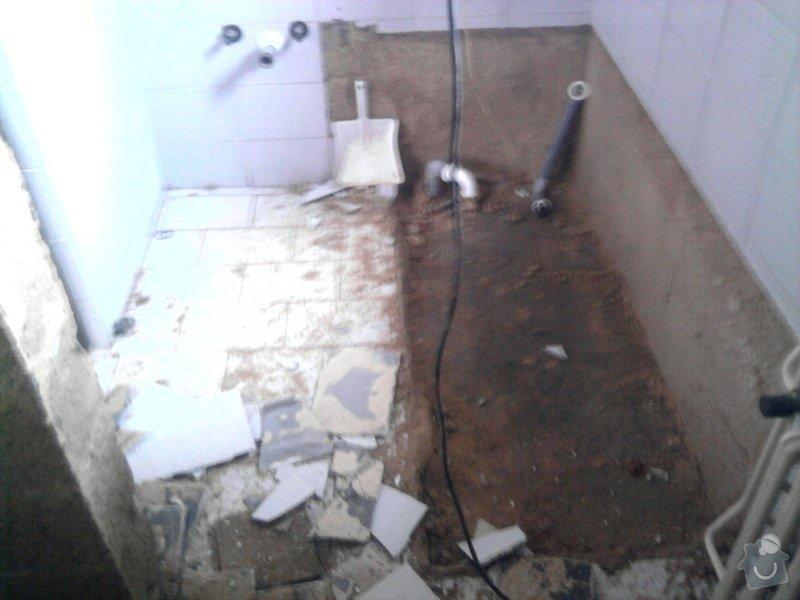 Rekonstrukce koupelny : Fotografie0543