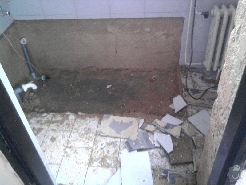 Rekonstrukce koupelny : Fotografie0544