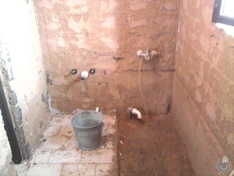 Rekonstrukce koupelny : Fotografie0546
