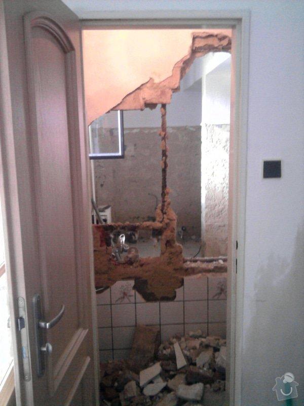 Rekonstrukce koupelny : Fotografie0549