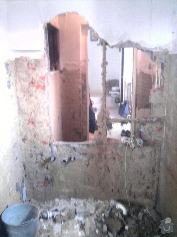 Rekonstrukce koupelny : Fotografie0550