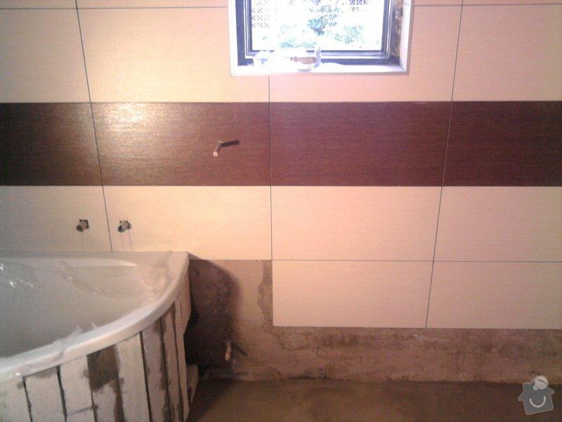 Rekonstrukce koupelny : Fotografie0553