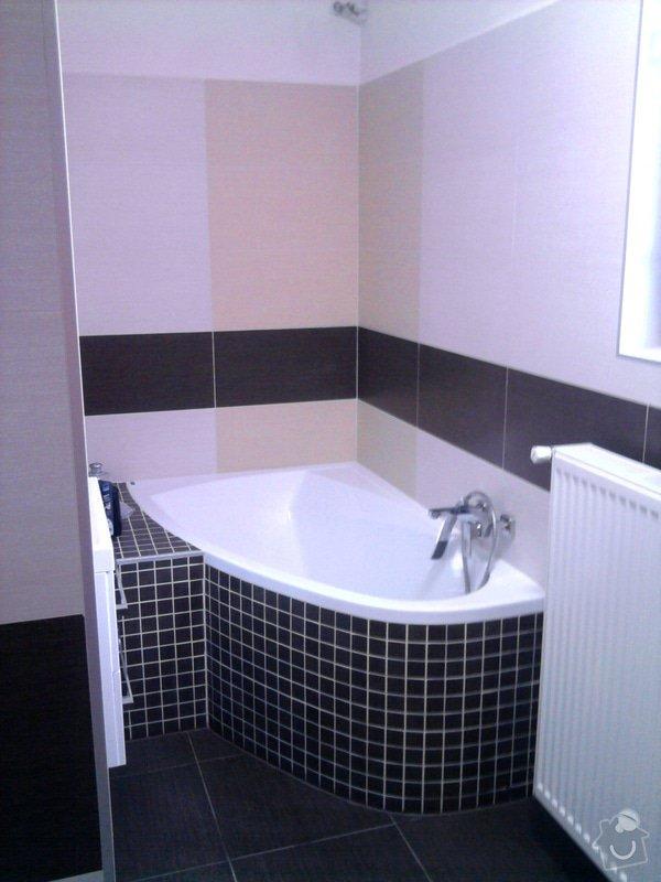 Rekonstrukce koupelny : Fotografie0556