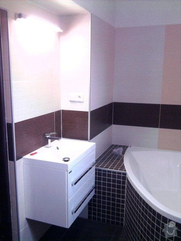 Rekonstrukce koupelny : Fotografie0557