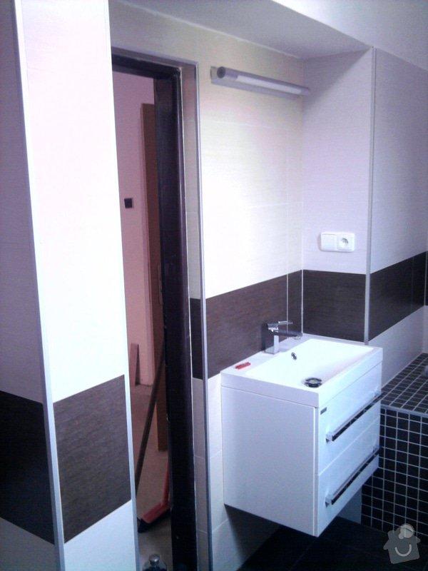 Rekonstrukce koupelny : Fotografie0559