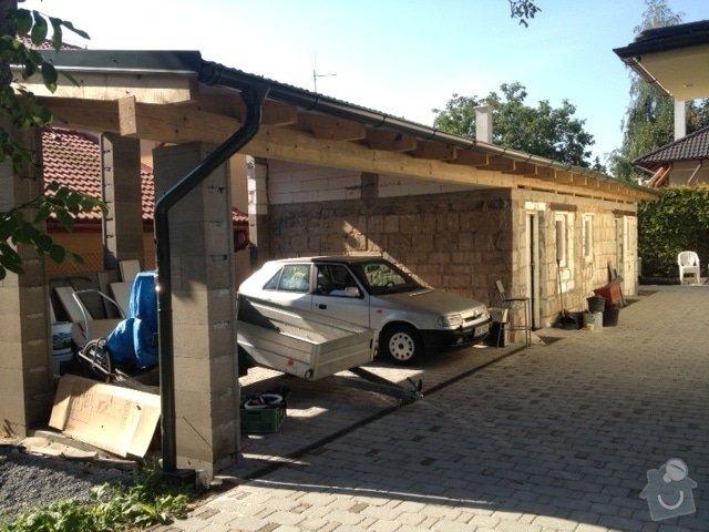 Zateplení dílny a podbití krovů: obrazek