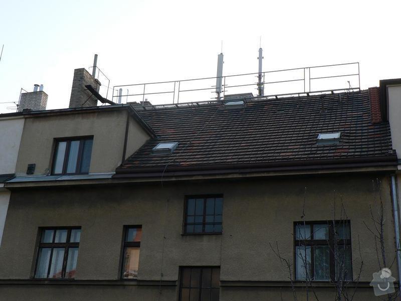 Výškové práce - oprava střechy: P1090137