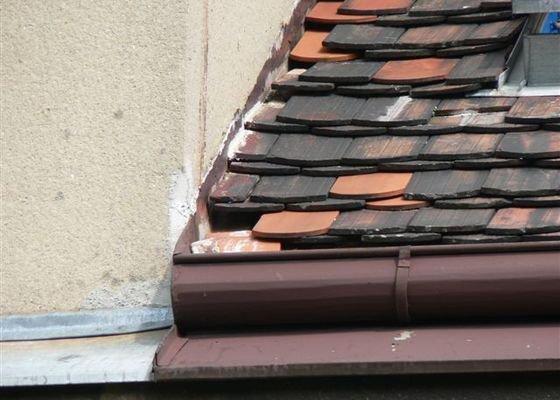 Výškové práce - oprava střechy