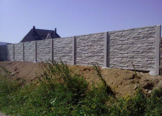 Betonové oplocení Vimperk