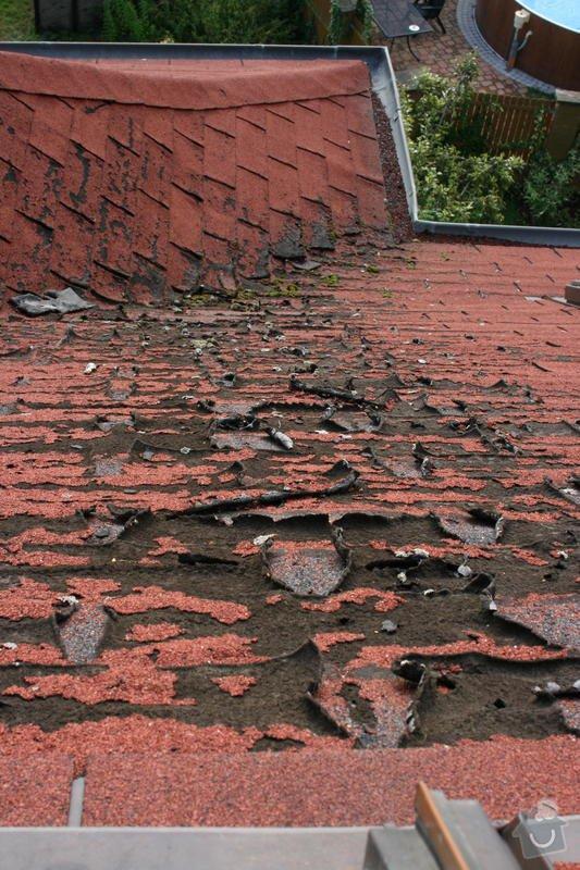 Oprava poškozených částí asfaltového šindele: IMG_6599