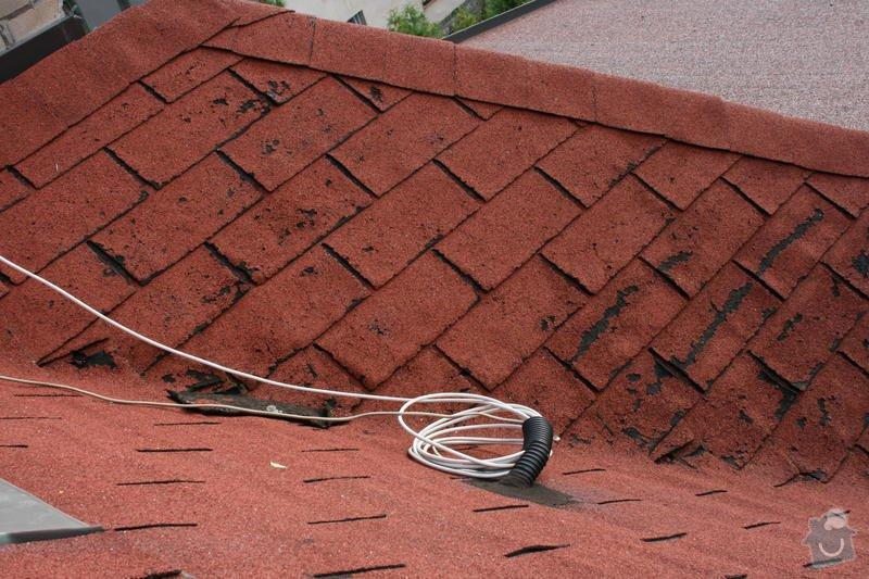 Oprava poškozených částí asfaltového šindele: IMG_6600