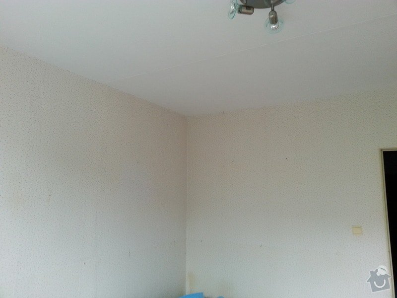 Štuky stěn a sádrokarotonové podhledy: 20130624_094309