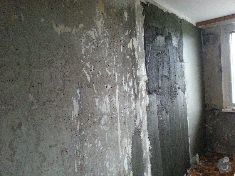 Štuky stěn a sádrokarotonové podhledy: 20130625_095336
