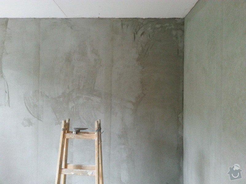 Štuky stěn a sádrokarotonové podhledy: 20130626_093404