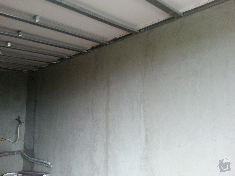 Štuky stěn a sádrokarotonové podhledy: 20130626_133838