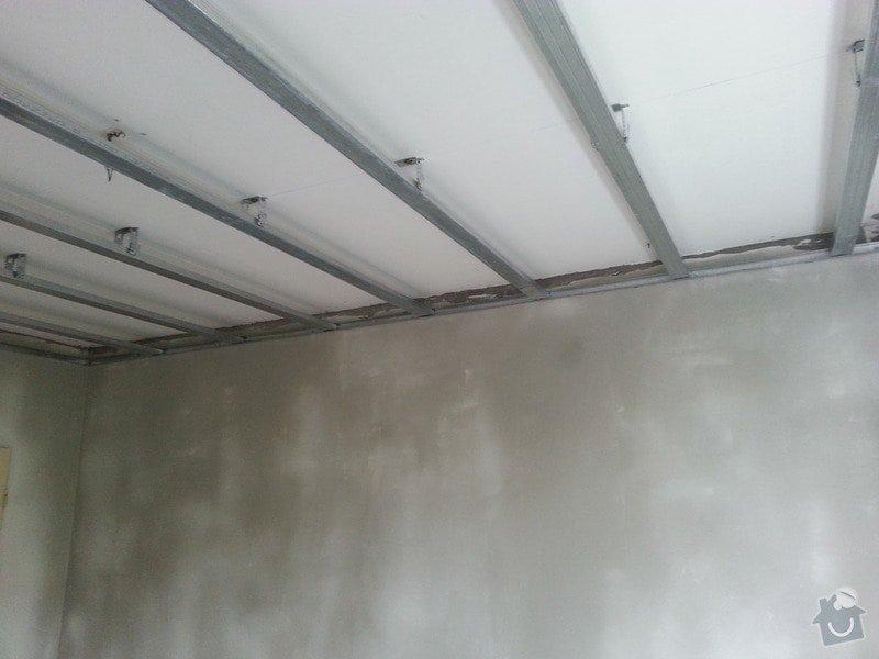 Štuky stěn a sádrokarotonové podhledy: 20130626_151134