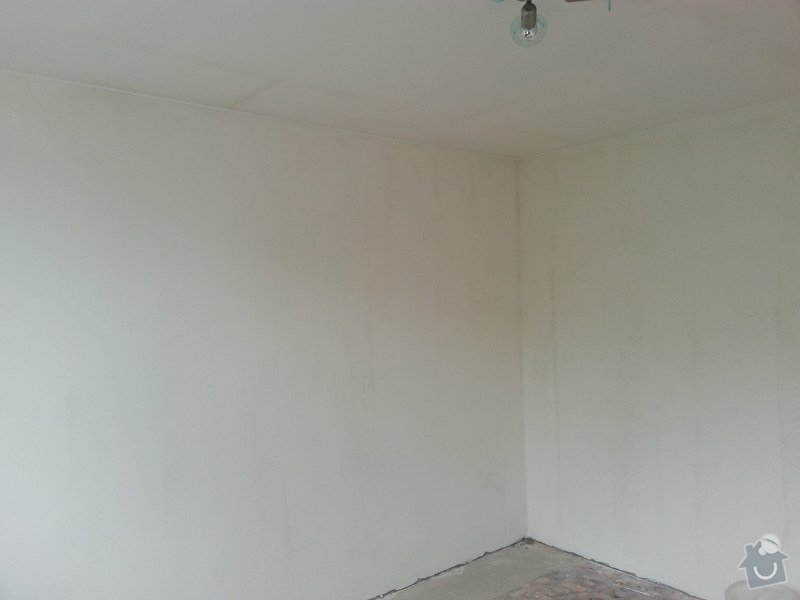 Štuky stěn a sádrokarotonové podhledy: 20130628_153125