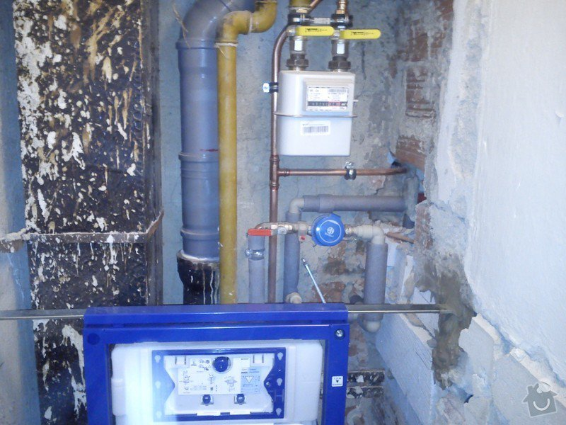 Vodo, topo, plyn v rámci rekonstrukce bytu: DSC_0138