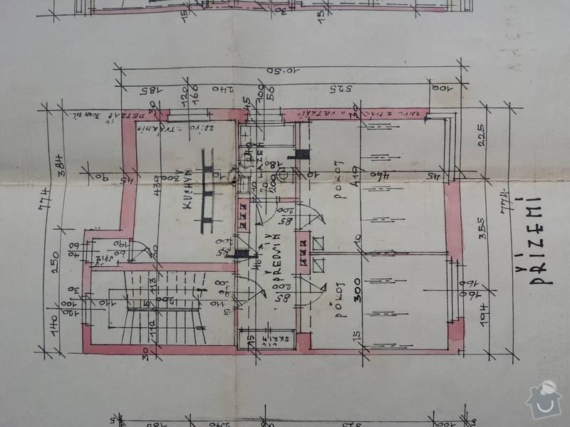 Rozvody elektriky, vody, plynu a topení ve 2+1: plan_bytu