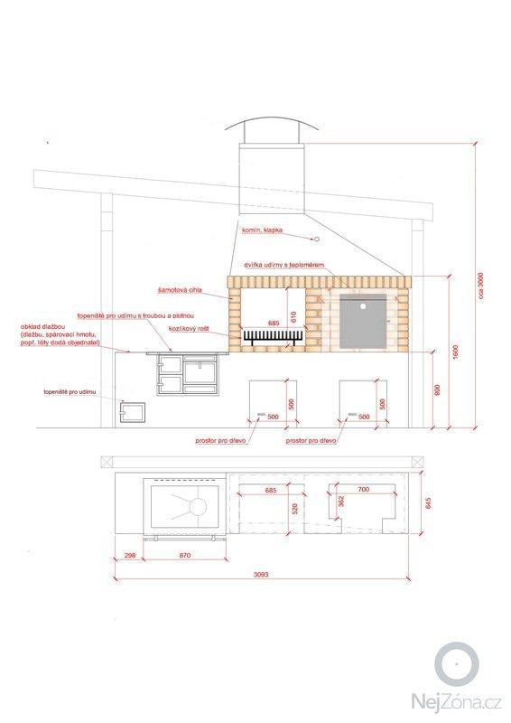 Stavba zahradního altánu s pevným krbem.: reseni_krbu
