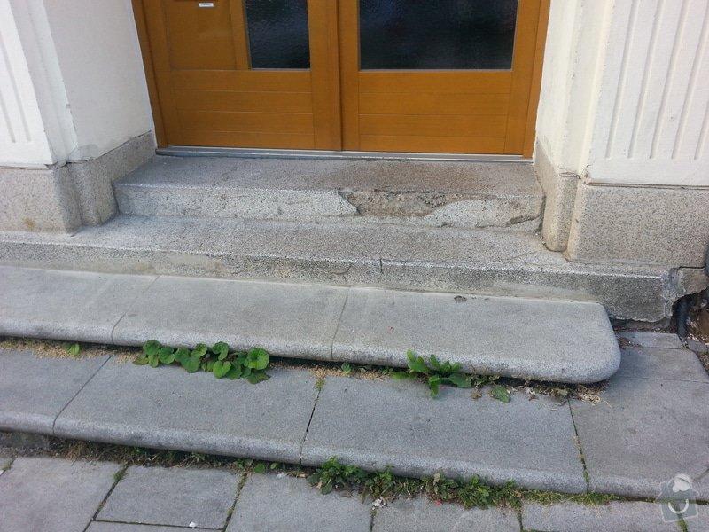 Oprava venkovních schodů: 20130813_071849