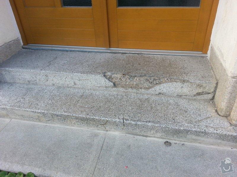 Oprava venkovních schodů: 20130813_071841