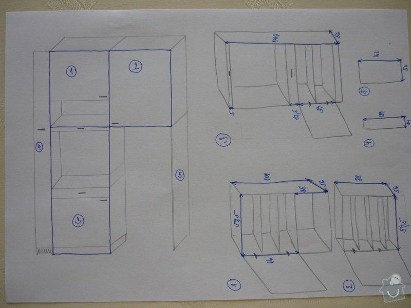 Výroba kuchyňské linky: P1100085