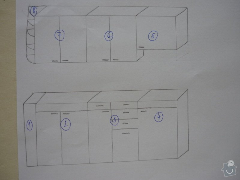 Výroba kuchyňské linky: P1100086